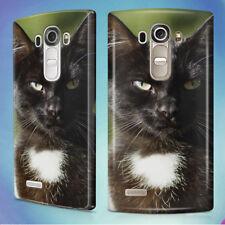 BLACK CAT 1 HARD BACK CASE COVER FOR LG PHONES