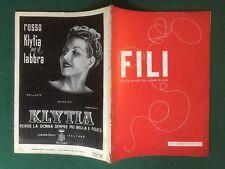 FILI n.37/1937 Ed. DOMUS Rivista Magazine DEI LAVORI D'AGO cucito ricamo moda