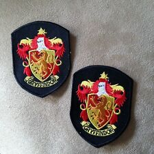 2 - Harry Potter Movie Griffindor House/Crest/Shield Iron-on Logo Patches Badge