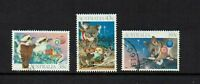 AUSTRALIA DECIMAL..1990 CHRISTMAS....SET OF 3