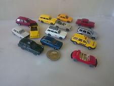 S12 1:87 12 Stück Wiking verschiedene Volkswagen VW Modelle div Epochen 181 1600