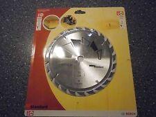 Bosch HM Kreissägeblatt 184mm 16mm 24 Zahn NEU 18B