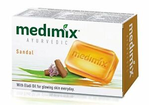 10 Medimix Soap  75gm  Real Ayurveda  With Sandal & Eladi Oils  Medimix