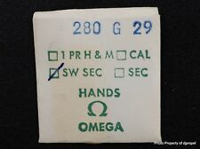 Vintage ORIGINAL OMEGA 280 G 29 Hand! Gilt Sweep Second Hand !