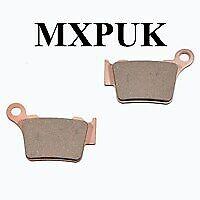 KX250 1999 Rear Brake Pads GOLD FREN 003 AD MXPUK 99 KX 250 251