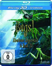 Bugs! Abenteuer Regenwald Real 3D Blu-ray *NEU*OVP*