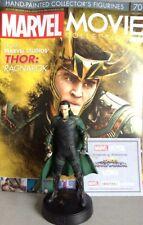 MARVEL MOVIE COLLECTION #70 Loki Figurine (Thor: Ragnarok) Figurine Eaglemoss en