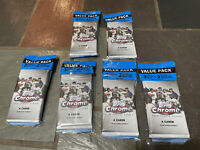 LOT OF (6) 2020 TOPPS UPDATE CHROME CELLO FAT VALUE PACKS w/ PINK REFRACTOR