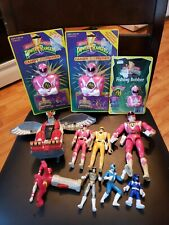 LOT OF VINTAGE POWER RANGERS TOYS & ACTION FIGURES