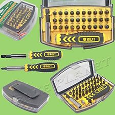 Torx Screwdriver Bit Tool Kit Set U4 U6 U8 / Y1 Y2 Y3 / FT -3.0 4.0 5.0 6.0