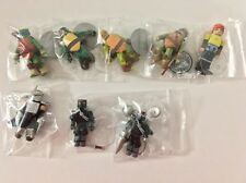 MiniMates TMNT Nickelodeon Lot of 8 (Missing Mutagen Mikey) Diamond Select Loose