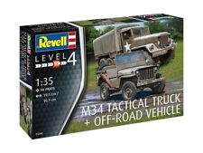 REVELL 03260 - 1/35 U.S. M34 TACTICAL TRUCK & OFF-ROAD VEHICLE - NEU