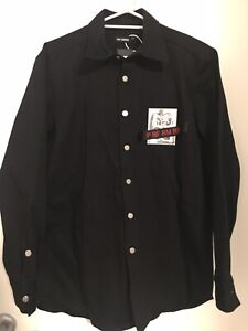 Raf Simons Tape Patch Denim Shirt SS19 Size S
