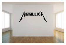 """METALLICA LOGO 36"""" Vinyl wall art sticker music decal heavy metal rock band"""