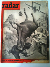 """RADAR 25/11/1960    """"pluie"""" de bétail sur la pampa"""