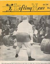 IronMan Lifting News Weightlifting Magazine/Paul Anderson dead lifts 710 lbs4-66