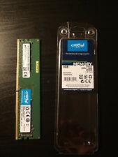 Crucial Memoria Ram DDR4 PC Desktop Server 8 GB 2666 MHz DIMM