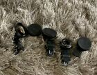 Apexel & Aukey Phone Camera Lens Lot (5) W/ Clips Filters Photography HD