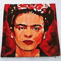 Frida Kahlo Pillow Cover Cushion Accent Pillow Case 20x20 Square New