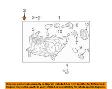 TOYOTA OEM-Headlamp Assembly Grommet 9018905142