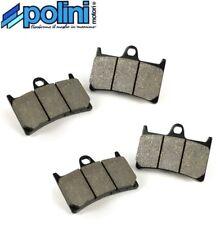 Jeu 4 plaquettes frein avant G/d Polini Yamaha XP 500 T-max / ABS 08-11