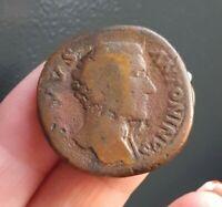 K06306 rareté R1 sesterce divus antoninus consecratio antonin monnaie romaine