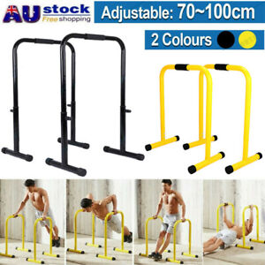 Multifunctional Floor Power Bar Standing Power Tower Dip Station Adjustable Heih