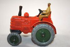 Dinky 301 FIELD MARSHALL Farm Tractor w/ DieCast Driver & Moving Front Axle VGC