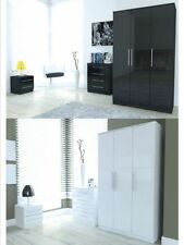 MDF/Chipboard Modern Bedroom Furniture Sets with 3 Pieces