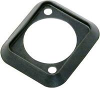Neutrik SCDP-0  Black Color Coded Sealing Gasket for D-size Chassis Connectors