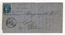 A1801) FRANCE 1871 letter Montauban Lyon