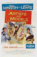 Artists and Models 1955 01 Film A3 Poster Print