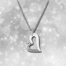 Amello Halskette Keramik Herz weiß Damen Edelstahlschmuck ESKX26W