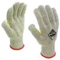 Tilsatec Ttp350-080 Cut Resistant Gloves, A8 Cut Level, Uncoated, 8, 12Pk
