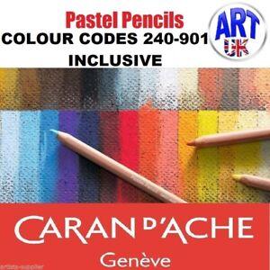 Caran d'Ache Artists Quality soft pastel pencils colours draw/sketching design