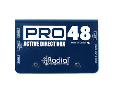 Radial Engineering Pro48 1-channel Active 48v Direct Box DI New