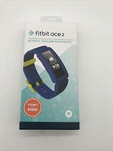 2562 Fitbit Ace 2 Kids Activity Tracker - Night Sky/ Neon Yellow