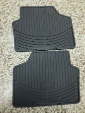 BMW Genuine Rubber Floor Mats for E90 Rears 2nd Rows # 82550412068