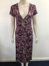 Viscose Party Floral Wrap Dresses