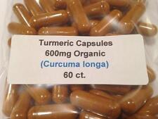 Turmeric Root Organic Vegan Capsules 60 ct.