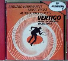 VERTIGO - BERNARD HERRMANN - MERCURY 422 106-2 - 1990 - CD SOUNDTRACK
