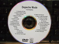 DEPECHE MODE MUSIC VIDEO DVD DELTA MACHINE BROKEN HEAVEN BUT NOT TONIGHT HALO