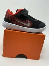 BABY BOYS: Nike Revolution 3 Shoes, Black & Red - Size 6C 819415-600