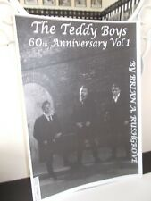 THE TEDDY BOYS 60th ANNIVERSARY MAGAZINE VOL 1, 28 PAGES, About 50 PHOTOS
