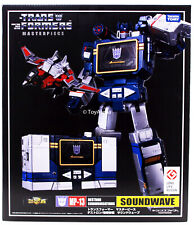 MP-13 Masterpiece Transformers Soundwave com Laserbeak autêntico TAKARA TOMY Usa