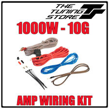 1000w Complete 10 Gauge Car Amp VIBE Fli Amplifier Cable Subwoofer Wiring Kit