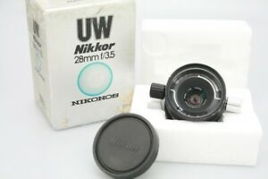 Nikon UW NIKKOR 28mm f3.5 LENS for NIKONOS underwater camera Imperfect Condition