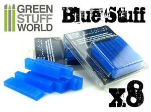 Green Stuff World Blue Stuff Instant Mold - 8 Bars - Scenery  Dioramas Warhammer