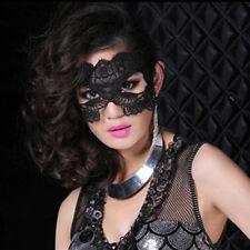 Women Catwoman Batman Lace Hollow Make-up Party Ball Fancy Dress Masks