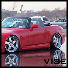 "18"" KLUTCH SL5 SILVER FIVE STAR WHEELS RIMS FITS HONDA S2000"